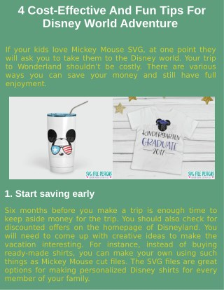 4 Cost-Effective And Fun Tips For Disney World Adventure