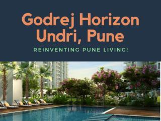 Godrej Horizon : Re-introducing the Pune Lifestyle