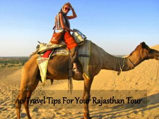10 Travel Tips For Your Rajasthan Tour - Travelsite India