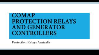 ComAp Protection Relays and Generator Controllers | Grid Protection