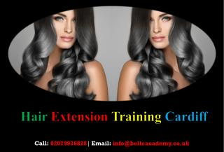 Hair Extension Training Courses - Belle Academy