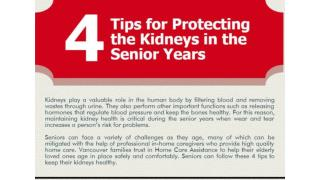 4 Tips for Protecting the Kidneys in the Senior Years