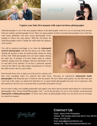 apture your baby first moment with expert newborn photographer