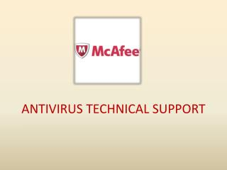McAfee Antivirus Technical Support