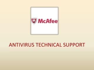 McAfee Antivirus Technical Support