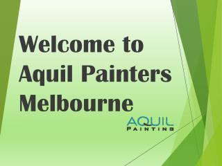 Aquil Painters Melbourne