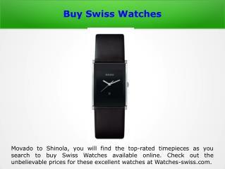 Swiss Watches Shop Online