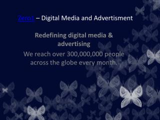 Zero1- Advertising in Digital Media | digital media and advertising