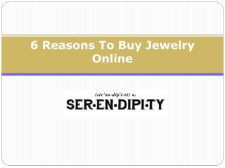 6 Reasons To Buy Jewelry Online