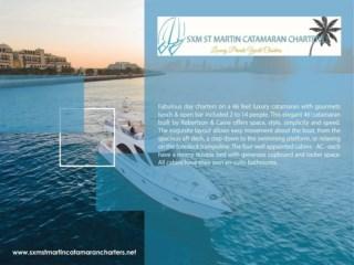sxm boat charters | sxmstmartincatamarancharters