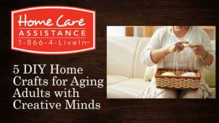 5 DIY Home Crafts for Aging Adults with Creative Minds