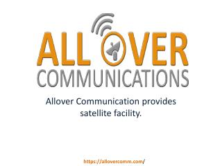 Satellite Communication Equipment & Rental Satellite CA