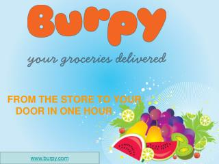 Burpy.com - Online Grocery Delivery Store