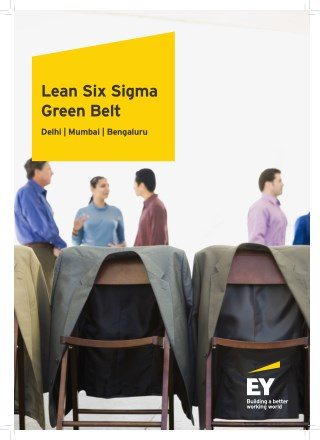 Lean Six Sigma Green Belt Training & Certification Program - EY India