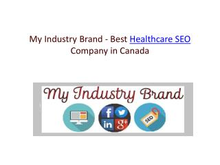 MyIndustryBrand-Best-Healthcare-SEO-Company-in-Canada