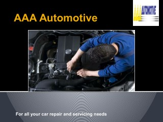 Car Service Blackburn - AAA Automotive