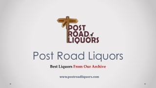 Wine of the month – Here're you need to know all about | Post Road Liquor