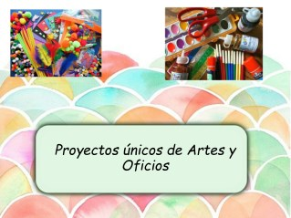 Proyectos únicos de Artes y Oficios