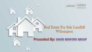 Real Estate for Sale Landfall Wilmington