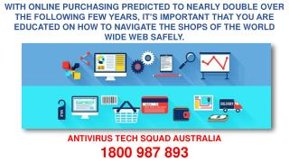 Tips & Guidelines For Secure Online Shopping And Banking- By AntiVirus Customer Support Experts