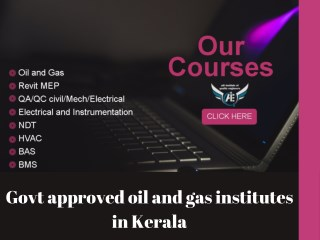 Oil and gas courses in Cochin