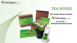 Tea Boxes | Tea Packaging | Custom Tea Packaging