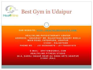 Best gym in udaipur