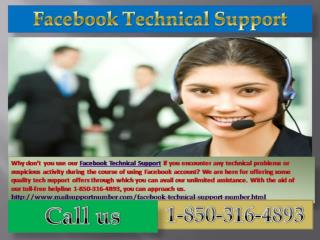 How does Facebook Technical Support 1-850-361-8504 team deal with the Facebook issues?