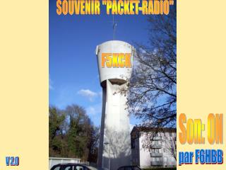SOUVENIR PACKET-RADIO