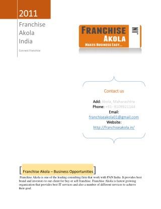 Franchise Akola