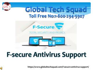 F secure Antivirus Support