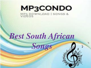 Best South African Songs