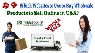 Which Websites to Use to Buy Wholesale Products to Sell Online in USA?