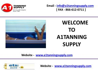 Tanning bed parts