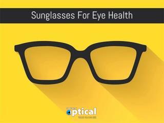 Sunglasses For Eye Health