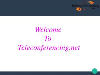 Teleconferencing