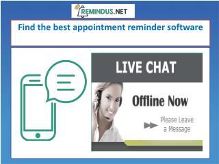 Get the best SMS Reminder Software