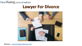 Family Lawyer : Find Experienced Divorce Lawyer in Shanghai