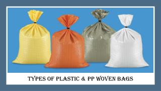 Plastic Woven Bag Manufacturers in Dubai