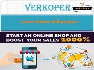Verkoper - Create Online Selling Store in India