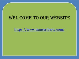 Professional business transcription services
