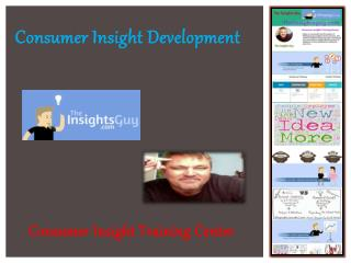Consumer Insight Development