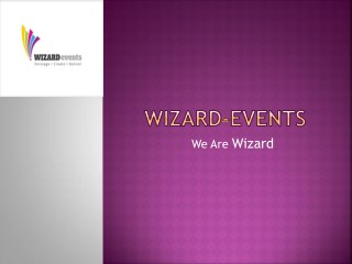 Corporate Event Management Companies in Bangalore | Wizard-Events