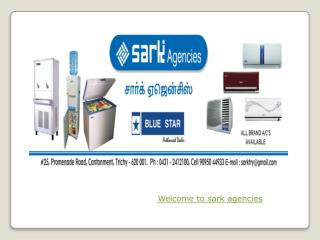 Air Conditioner Showroom in Trichy - Sark Agencies