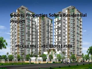 Godrej Sohna Residential Project - Gurgaon