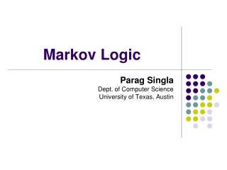 Markov Logic