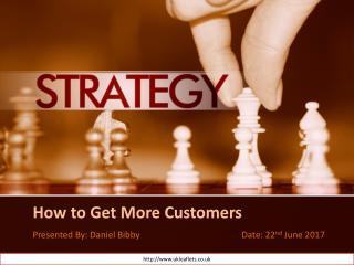 Get More Customers - Leaflet Distribution