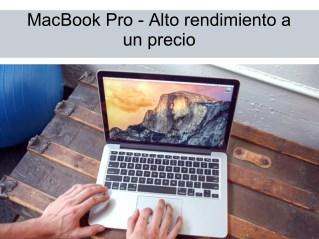 MacBook Pro - Alto rendimiento a un precio