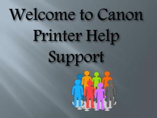 Canon Printer Tech Support Service