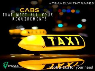 Online cab in Delhi to Nainital | Trapes